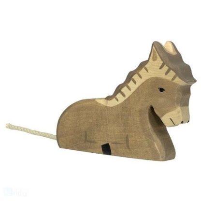 Donkey, lying - Holztiger 80048