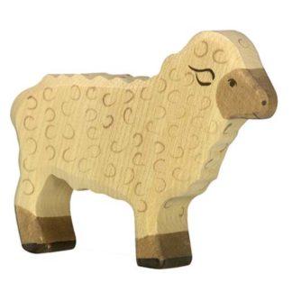 Holztiger Sheep (standing) (80073) Wooden Animal Figure | LeVida Toys