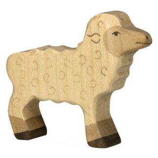 Holztiger Lamb (80076) Wooden Sheep Figure | LeVida Toys