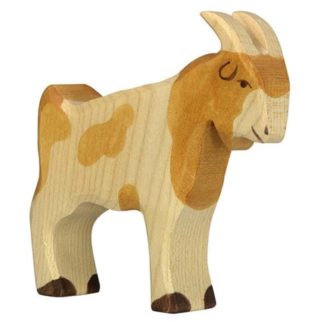 Holztiger Billy Goat (80079) Wooden Animal Figure | LeVida Toys