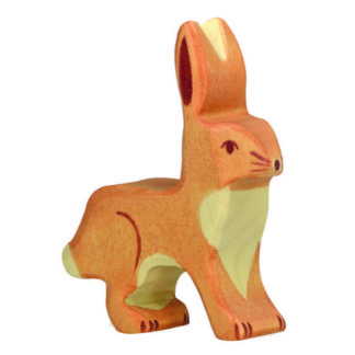 Rabbit, upright ears - Holztiger 80097