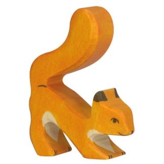 Squirrel, orange - Holztiger 80105