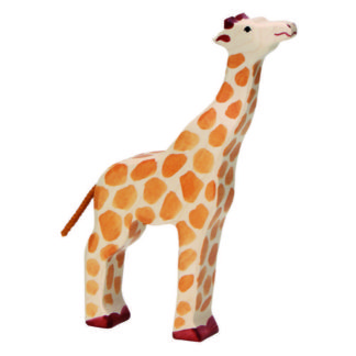 Giraffe, head raised - Holztiger 80155