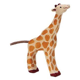Giraffe, small feeding - Holztiger 80157
