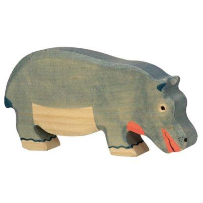 Hippopotamus, feeding - Holztiger 80161