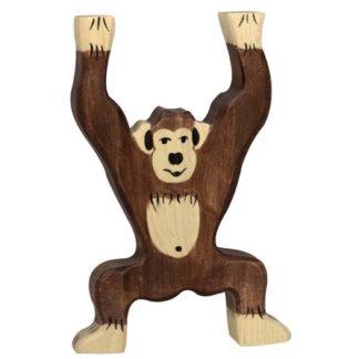 Chimpanzee, standing - Holztiger 80169