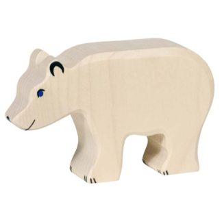 Polar Bear, feeding - Holztiger 80207