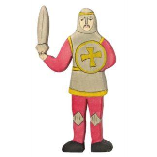 Fighting Knight, Red - Holztiger 80252