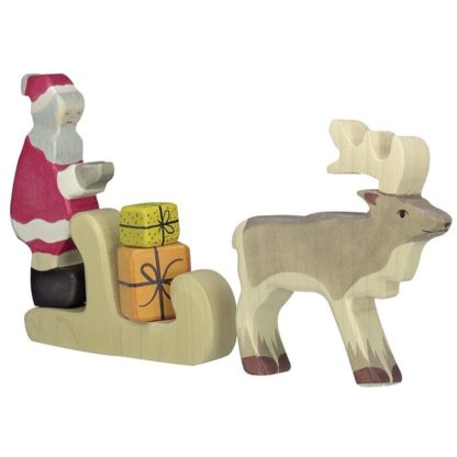 Father Christmas, Sleigh, Presents and Reindeer are sold separately.