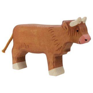 Highland cattle, standing - Holztiger 80556