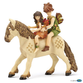 Papo Elves Children and Pony - Enchanted World 39011
