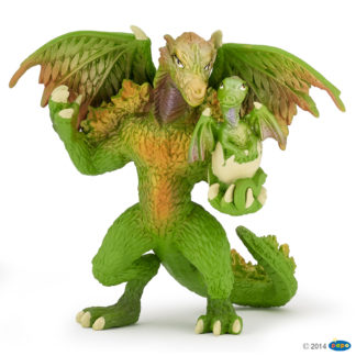 Papo Dragon of the Forest - Enchanted World figure - 39089