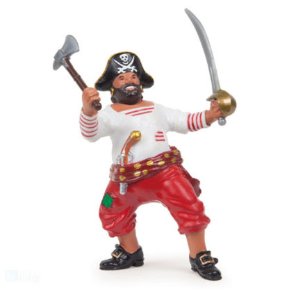 Papo Pirate With Axe - Pirates and Corsairs figure - Papo 39421