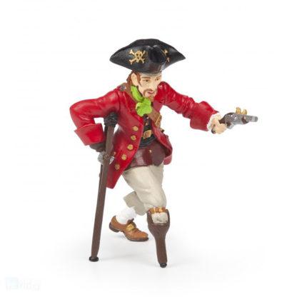 Papo Wooden Leg Pirate with Gun - Pirates and Corsairs figure - Papo 39467