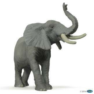 Papo Trumpeting Elephant Wild Animal Kingdom figure - Papo 50041