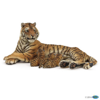 Papo Lying Tigress Nursing Wild Animal Kingdom figure - Papo 50156