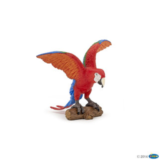 Papo Ara Parrot Wild Animal Kingdom figure - Papo 50158