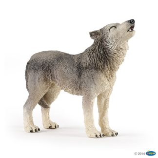 Papo Howling Wolf Wild Animal Kingdom figure - Papo 50171