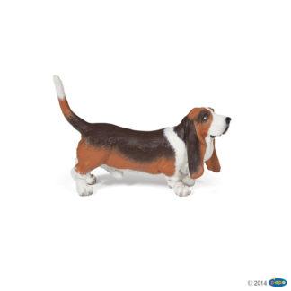 Papo Basset Hound - Dog & Cat Companions - Papo 54012