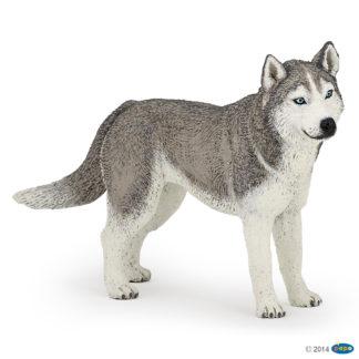 Papo Siberian Husky - Dog & Cat Companions - Papo 54035
