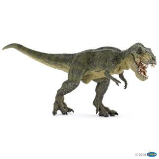 Papo Green Running Tyrannosaurus Rex Dinosaur figure - Papo 55027