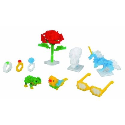 Clear Colour Set (Nanoblock NB-016)   LeVida Toys