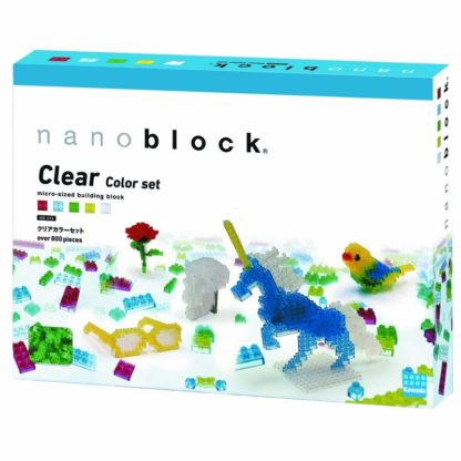 Clear Colour Set (Nanoblock NB-016) | LeVida Toys