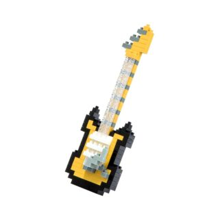 Electric Guitar (Black & Yellow) - Nanoblock NBC-023 | LeVida Toys