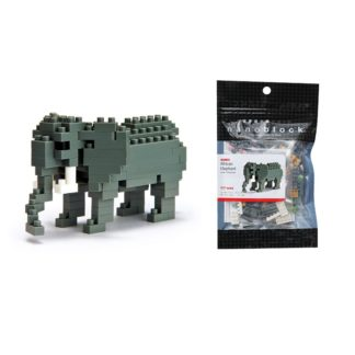 African Elephant - Nanoblock NBC-035