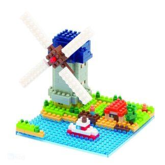 Windmill - Kinderdijk Elshout - Nanoblock NBH-043