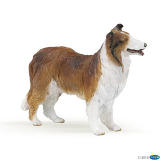 Papo Collie - Dog & Cat Companions figure - Papo 30230