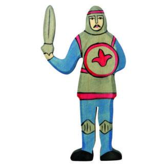 Knight, fighting blue - Holztiger 80253