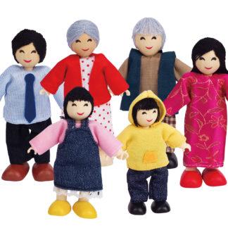 Doll Family - Asian - Hape