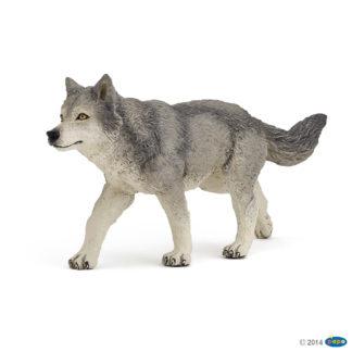 Papo Grey Wolf Wild Animal Kingdom figure - Papo 53012
