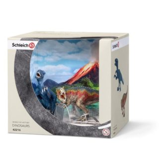 T-Rex and Velociraptor Set - Schleich 42216