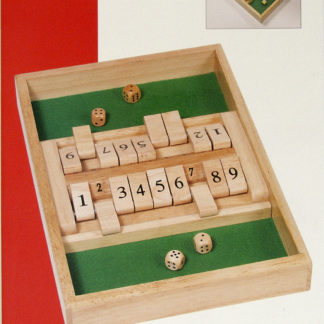 Shut the Box (Double) by Goki