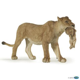 Papo Lioness with Cub Wild Animal Kingdom figure - Papo 50043
