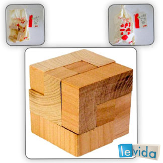 The Magic Cube - Wooden Puzzle by Goki