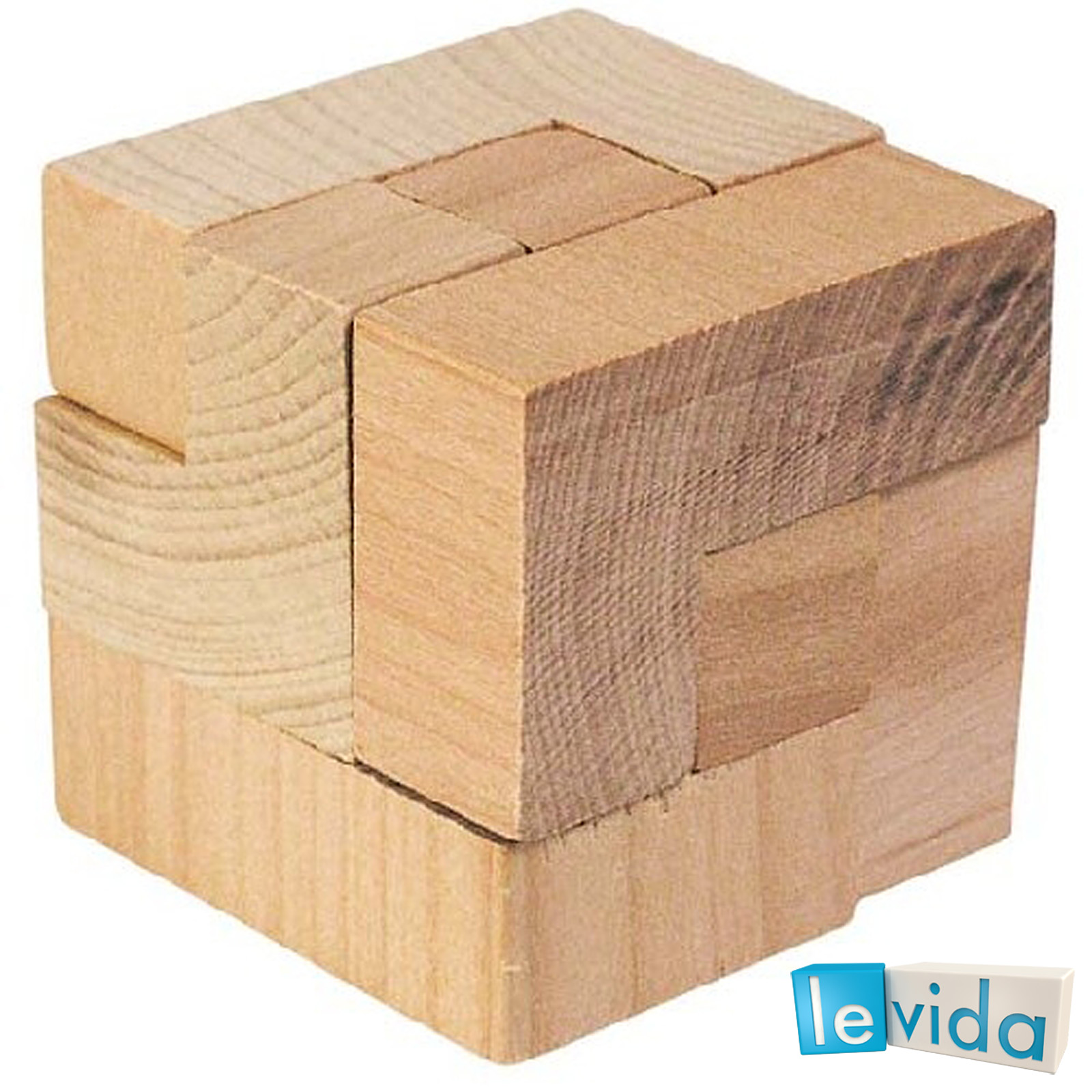 The Magic Cube - Wooden Puzzle by Goki | LeVida Toys