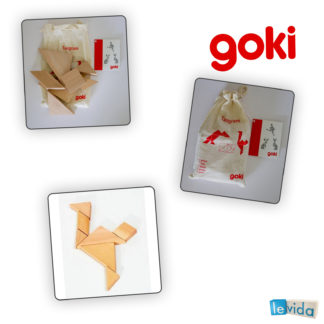 Tangram - Wooden Puzzle by Goki