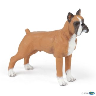 Papo Boxer Dog & Cat Companions figure - Papo 54019