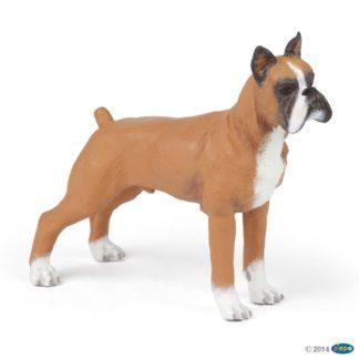 Papo Boxer Dog & Cat Companions figure - Papo 54019