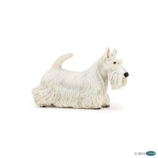 Papo White Scottish Terrier - Dog & Cat Companions 54028