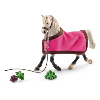 Arab Mare with Blanket - Schleich Farm Life 41447