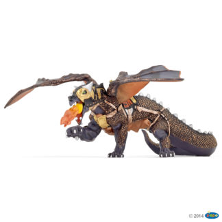 Papo Dragon of Darkness - Fantasy World figure - 38958