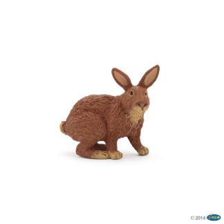 Brown Rabbit - Papo 51049