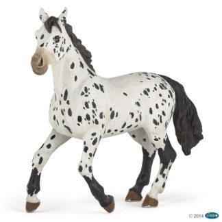 Black Appaloosa Horse - Papo 51539