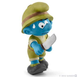 Jungle Smurf, Adventurer - Schleich 20782