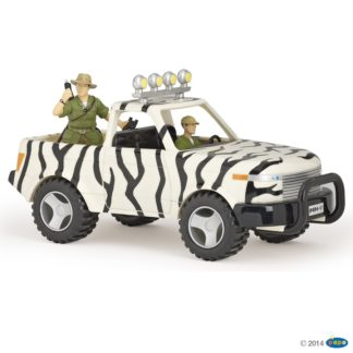 Papo Jungle Car and Driver Wild Animal Kingdom figure - Papo 39238