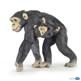 Papo Chimpanzee and Baby Wild Animal Kingdom figure - Papo 50194